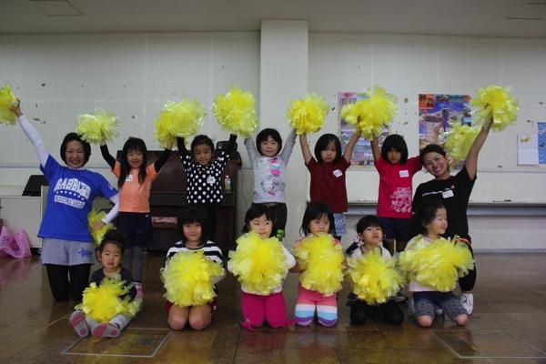 沖縄 チアリーディング 無料体験